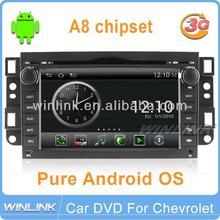 New Android For Chevrolet Epica Captiva AVEO Car DVD Player GPS 3G WIFI Headunit Radio DVR Navigation Camera SD/TF