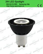 Aluminum Casted GU10 LEd Spot lamp for mood lighting