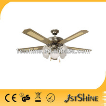 ceiling fan and light SHD52-5C5L with CE hot sell in Europe and Africa
