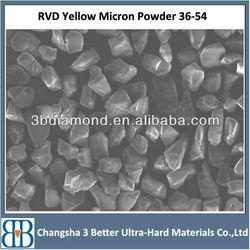 yellow resin bond and vitrified diamond powder
