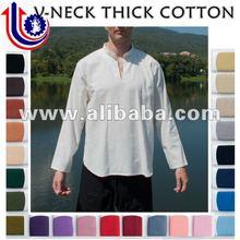 Kurta V-Neck Shirt Manufacturer