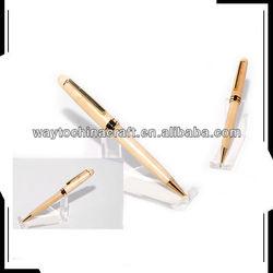 Natural maple wooden ball pen