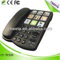 analog grande botão telefone grande botão telefone com fotos para pessoas idosas