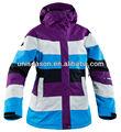 Windrpoof esquí de las mujeres de la ropa nuevo diseño