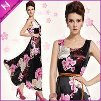 popular bohemia dress chiffon maxi dress 2013