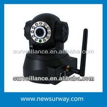"P2P IP WIFI PTZ IP Camera 1/4"" color CMOS sensor P2P economic pan tilt wifi wireless"