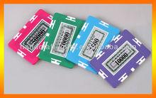 High quality 2013 custom rectangular poker chips