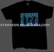 EL Animated Panel T-shirt