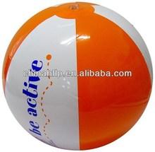Symbolic lovely dot on the beach ball
