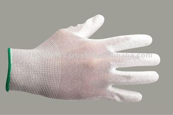 Antistatic PU Palm Glove