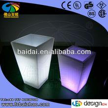 LED flower pot/color changing planter / light up outdoor furniture