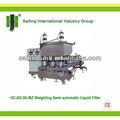 Ponderação gcj02-06-ibz semi- automática de enchimento líquido, peso máquinadeenchimento