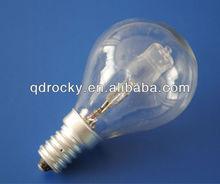 g40 clear halogen lamp e14 12v 24v 36v 220v 15W 35W 50W 100W