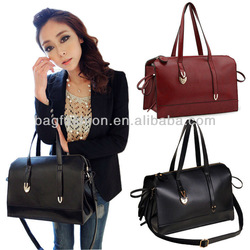 Women Lady Leather Shoulder Handbag Tote Satchel Single-shoulder Bag