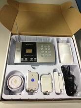 2013 Newest Design Intelligent wireless GSM/PSTN Alarm control panel (battery powered)