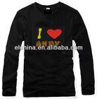 led promotional t-shirts/ EL long sleeves equalizer led t-shirts / hoodies