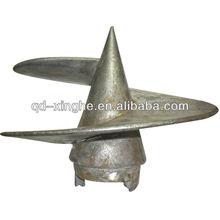 Custom fan blade stainless steel casting