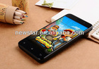 China 4.7 Inch Small Size Capacitive Touch Screen 3G Android Smart Cell Phone Mobile Phone