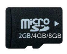 Classical tf card 2/4/8gb soft pvc card holder