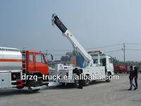 sinotruk 6*4 heavy rotator wrecker,recovery vehicle