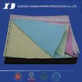 2013 de calidad superior de la computadora capa verde rosa de papel de impresión