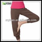 Professional active super soft women wide leg trousers wholesale
