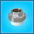 Plastic Pipe Fitting PPR Female Thread Composite Union