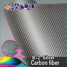 Good Quality 1.52x30m PVC Wrapping Film 3D Carbon