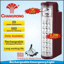 CR-1072TP-1W rechargebale solar lantern power bank 2 in 1