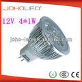 /30 45/60 abstrahlwinkel high power led mr16 led strahler 4x1w/dc led lampe 4w