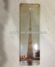 metal bookmark, embossed customized bookmark