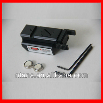 Tactical Red Dot Laser Sight 20mm Picatinny Weaver Rail Mount for Pistol Gun
