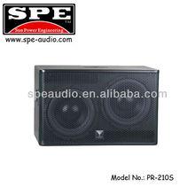 PR-210S professional loudspeaker subwoofer speakers 2 x 10 inch KTV speaker bass woofer