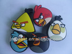 kids toy angrybird cartoon 2d or 3d usb flash drives