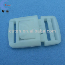 white plastic buckle for bag, luggage