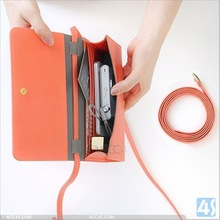 6 inch Universal leather cell phone Bag P-UNI6CASE001