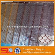 2013 new style!Decorative metal mesh curtain fabric,decorative metal mesh drapery