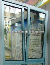 Aluminum tilt and turn window, thermal break frame, Australian, US, EU standard, PVC aluminum frame available