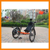 Electric Recumbent Bike Folding Trike for Adults