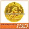 gold dragon/tiger coin trendy corporate gifts