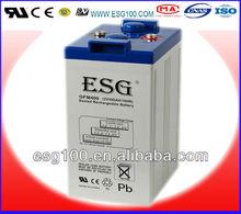 2V 400AH sealed lead acid UPS Solar Battery manufacturer in guangzhou