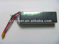 Power li-po batteries for model aeroplane