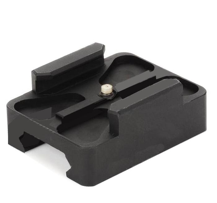F06669 CNC Aluminum 20mm Mini Rail Mount for GoPro Hero 2 Camera