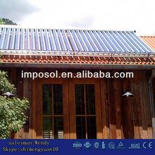 All Glass Solar Collector/Vacuum Tube Solar Power System