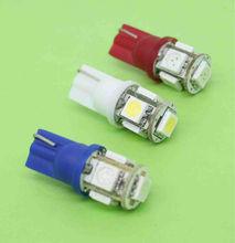 Top seller super brightness License/side/Interior Light 5050 5SMD 194 168 w5w T10 Car LED light