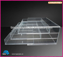 Clear Plexiglass Cosmetic Carrier