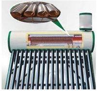 Geyser water heater Low Pressure Pre-heated Copper Coils as Heat Exchanger Solar Water Heater