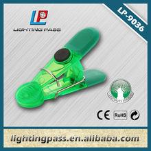 Plastic mini colour clip