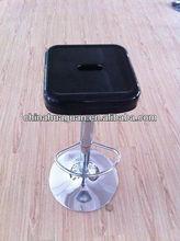 metal swivel club stool