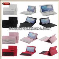 New Smart stand Bluetooth Keyboard Cover Wake/Sleep PU Stand Case for iPad 4 3 2
